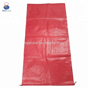 Low price 60*90cm raffia 50kg grain bag