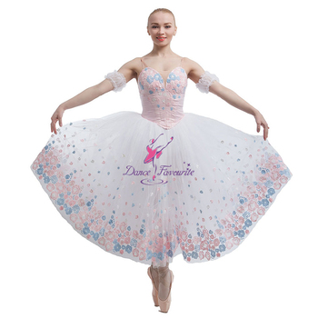 005eed52b7fe Adult Girls Professional Romantic Ballet Dance Dress Soft Tulle ...