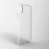 New Fit For iPhone X Ultra Thin TPU Transparent Clear Phone Cases Cover For iPhone 8 Case