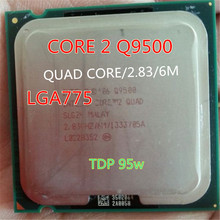 q9500 Quad core Processor Core 2 cpu Q9500 cpu (2.83GHz /6MB Cache /FSB 1333 ) Q9550/Q9650 series LGA775 quad core CPU