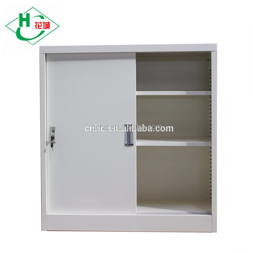 Small Office Cupboard Sliding Door Steel Storage Cabinets Product On
