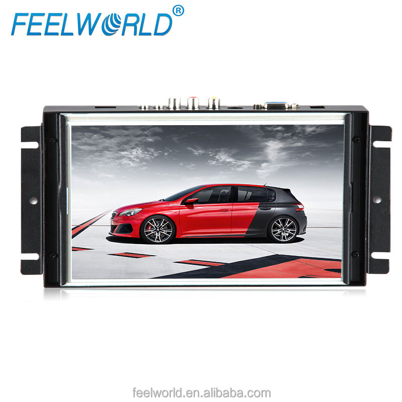 Feelworld 10.2inch tft lcd monitor with hdmi,vga,av for industrial application