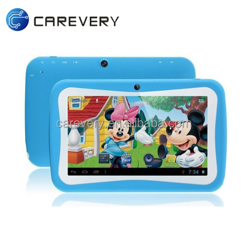 "7"" rockchip 3126 tablet for kids, mini tablet android 5.1 with learning apps"
