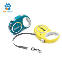 Automatic Retractable Dog leather Lead Leash Durable Nylon for pet dog