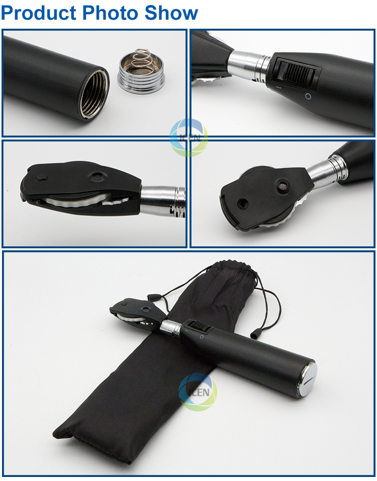 IN-V11 Professional Ophthalmic Diagnostic Handheld Portable Direct Ophthalmoscope for sale