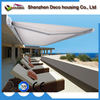 2017 electric remote control retractable balcony folding shade awning