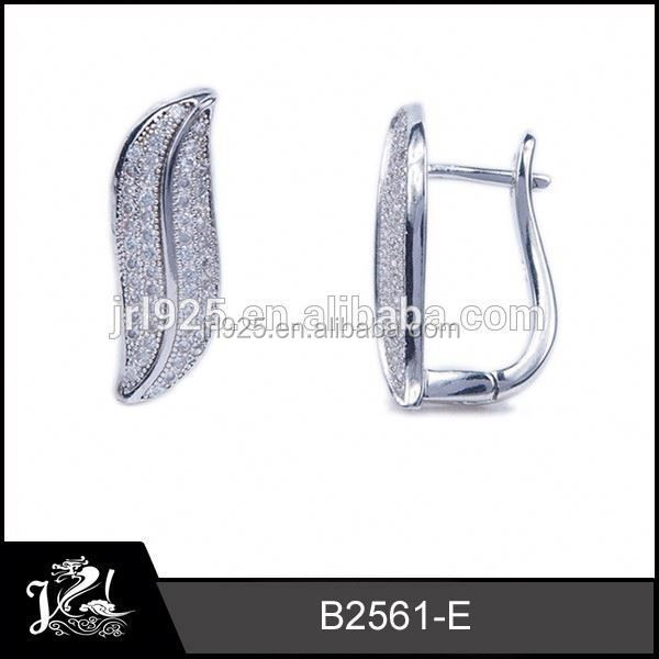 Best Selling Silver Hoop Earrings pig ears