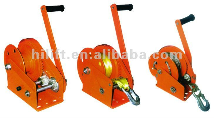 Manual/automatic Brake Hand Winch