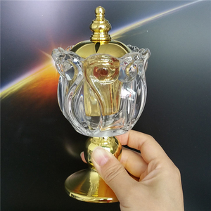 Crystal Brass Incense Burner 24pcs/ctn