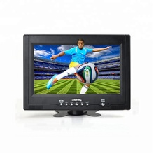 9 Inci Layar Lebar LCD LED Digital TV Portable Mini TV Monitor