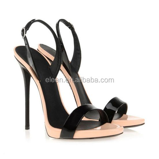 New Design High Heel Sandals Ladies Summer Shoes