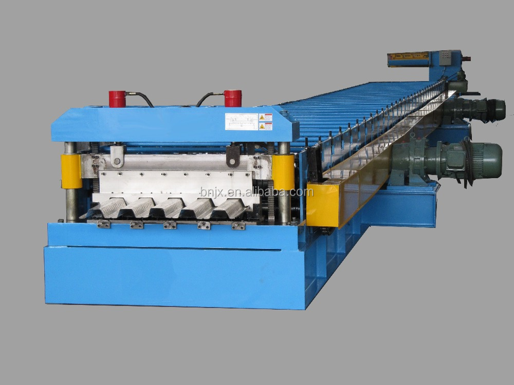 BN 886 Steel Structural Floor Decking Cold Making Roll Forming Machine