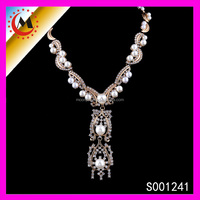 CHEAP JEWELRY SELLING IN INDIA MARKET ARTIFICIAL PEARL NECKLACE SET