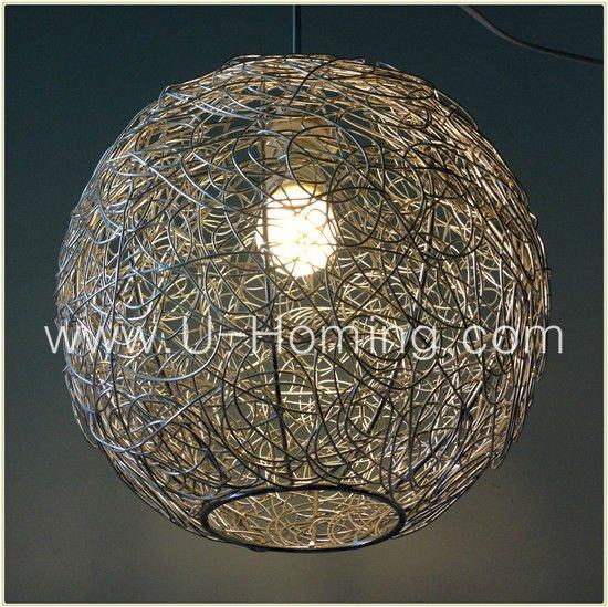 Wire Ball Chandelier