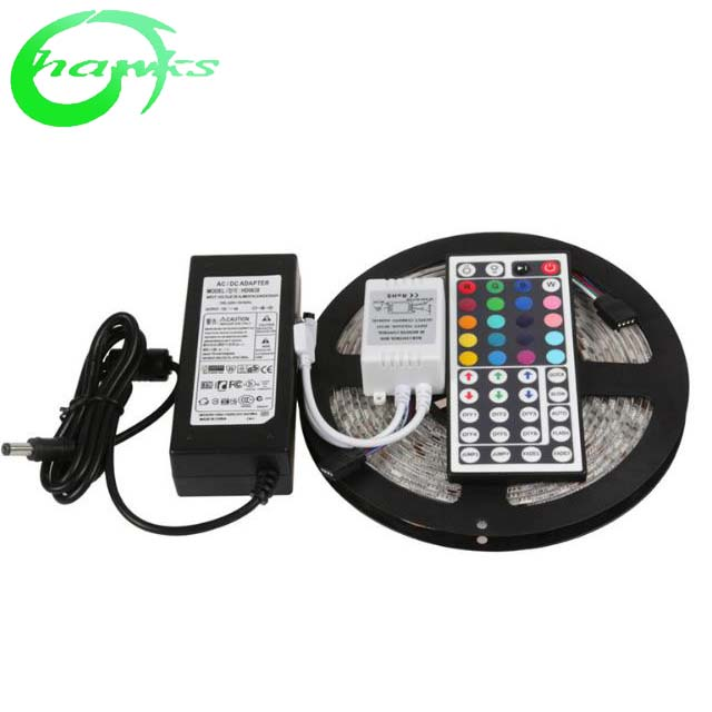 Keren Putih Lampu LED Strip12v Premium High Density 5050-16.4 Kaki, 300 LED 5000 K, 384 Lumen Per Kaki