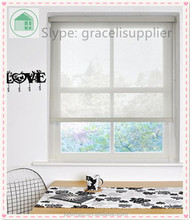 Transparent roller blinds affordable solution Ffor window