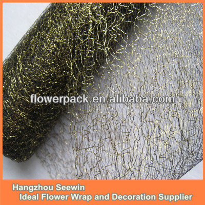 Black Color Wholesale Deco Poly Mesh