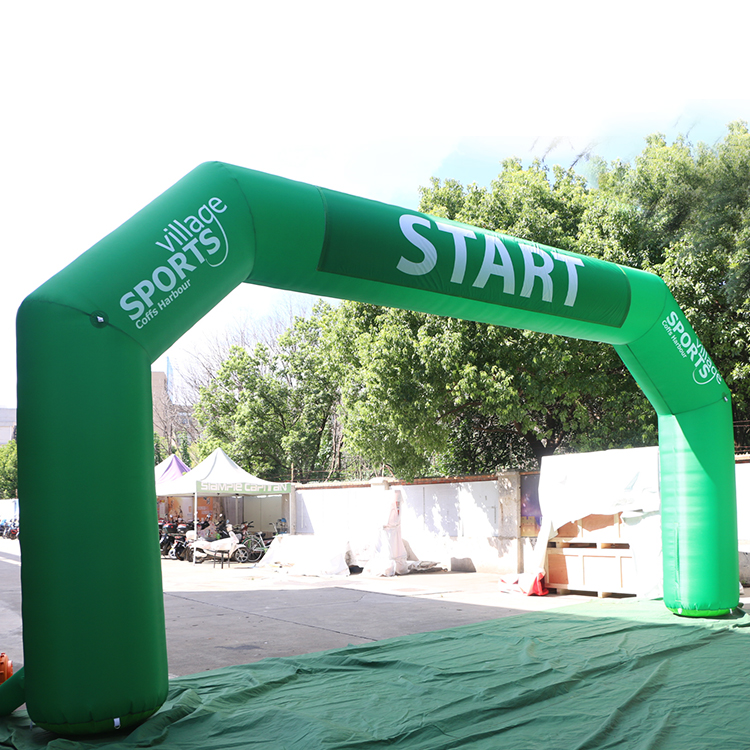 <strong>Inflatable</strong> Running Arch with LOGO print,Top quality sealed <strong>inflatable</strong> arch/Finish line/Start line with hanging banner