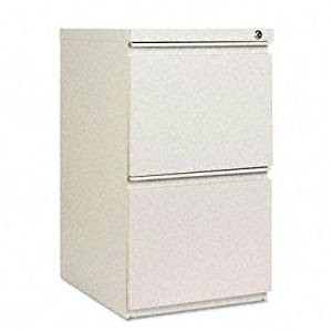 Get Quotations · Alera   Two Drawer Metal Pedestal File With Full Length  Pull 14 7