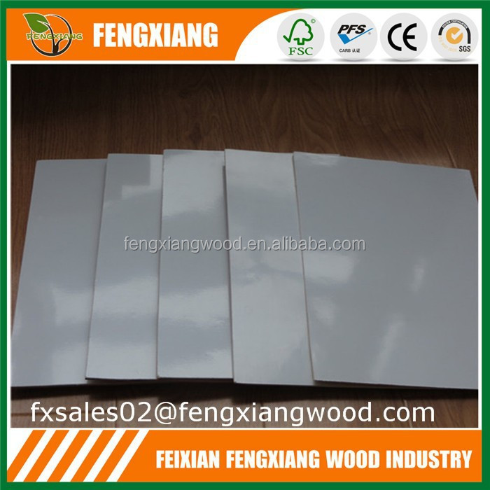 plywood formica laminate,white color one side polyester plywood