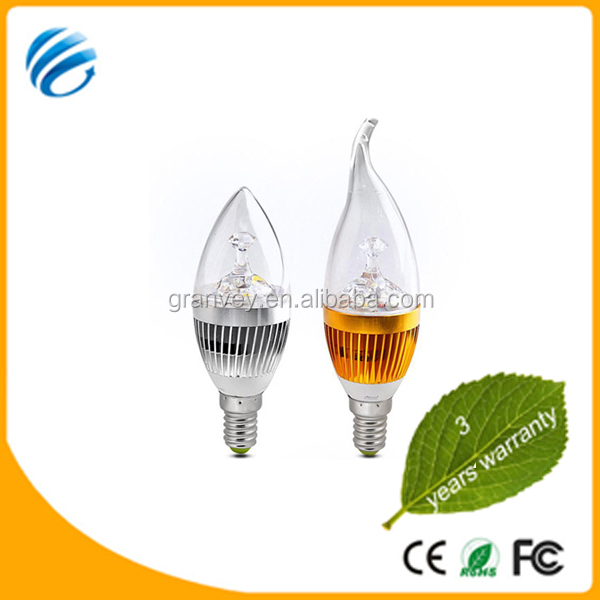 hight quality products new design led bulb factory with tail of CE ROHS 3 years warranty 3w led tail lights round