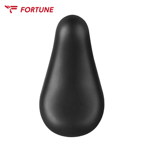 Comfortable Vacuum Leather Bicycle Saddle with Round Steel Pipe Cycling Saddle Bike Saddle