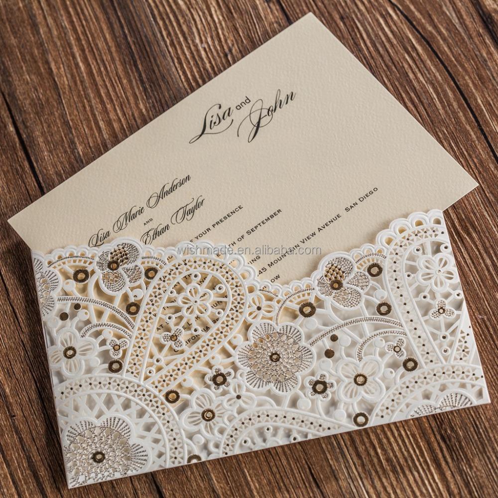 elegant wedding invitation card for royal wedding and birthday ...