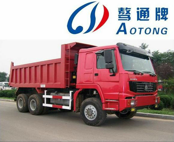 China 6*4 side wall open dumping truck on sale