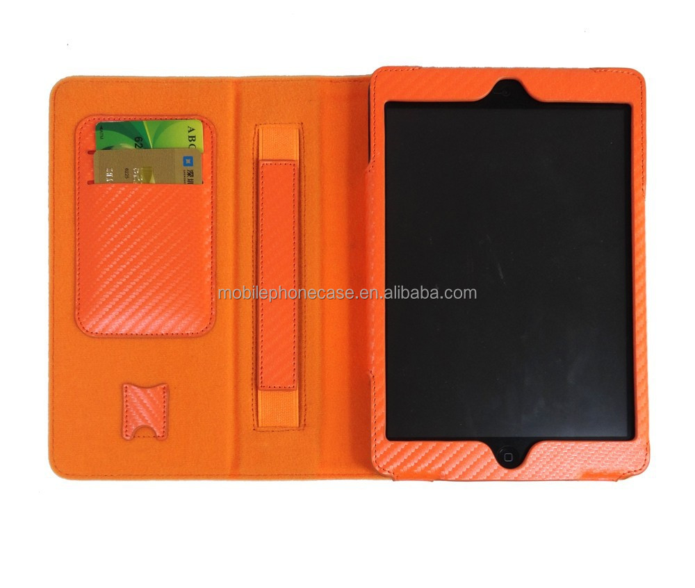 Designs Fancy Tablet Protective Case For iPad Mini With Card Holder