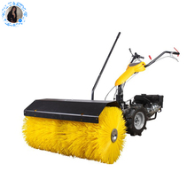 6.5hp gas powered sweeper snow plow electric snow sweeper