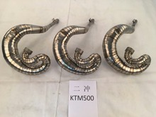 2 Stroke Motorcycle Titanium Exhaust Pipe system for KTM500