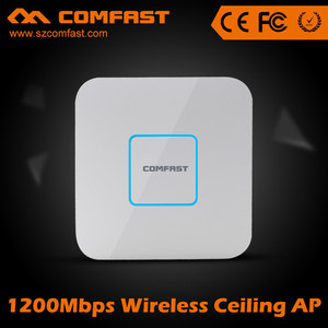 COMFAST CF-E355A 1200Mbps 5.8Ghz&2.4Ghz Indoor Ceiling Wifi AP Wireless Access Point With POE Adaptor
