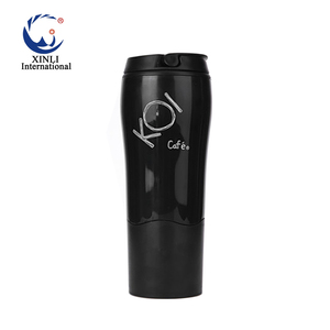 Latest Chinese Products Flat Empty Plastic Coffee Water Bottles Free Sample Wholesale