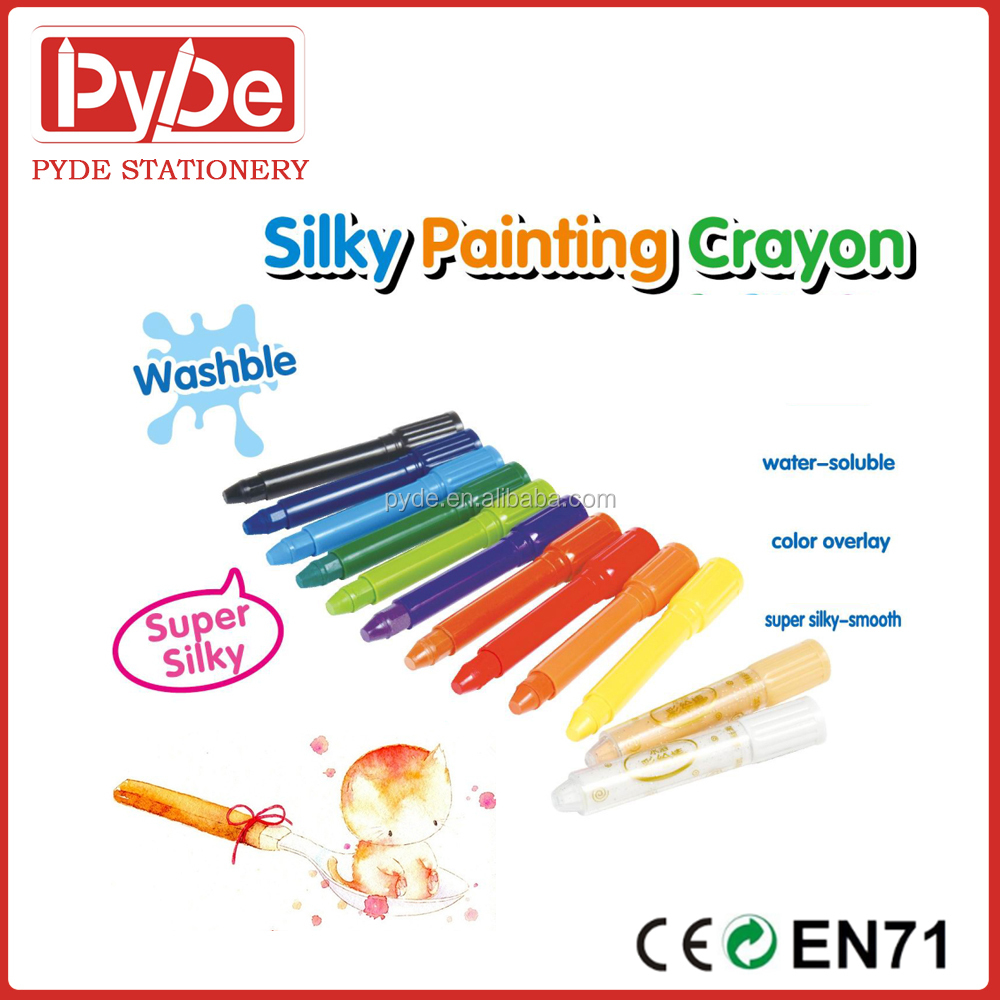 Gel Crayons Bright Colors, 6/12 /24pcs for kids in multi color