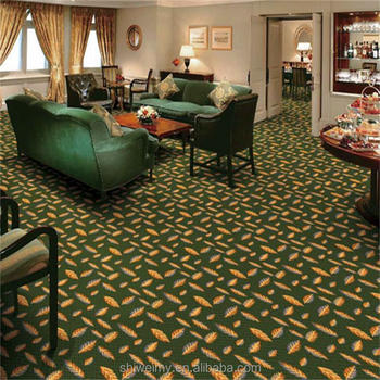 Old Fashioned Dark Green Design Axminster Home Carpet