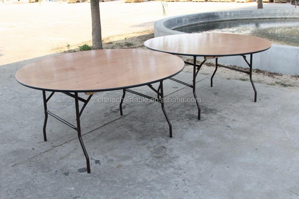 72 39 39 ronde pliante table de banquet avec pvc bord table - Table pvc pliante ...