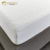 High quality level quilted mattress cover white microfiber filling mattress protector