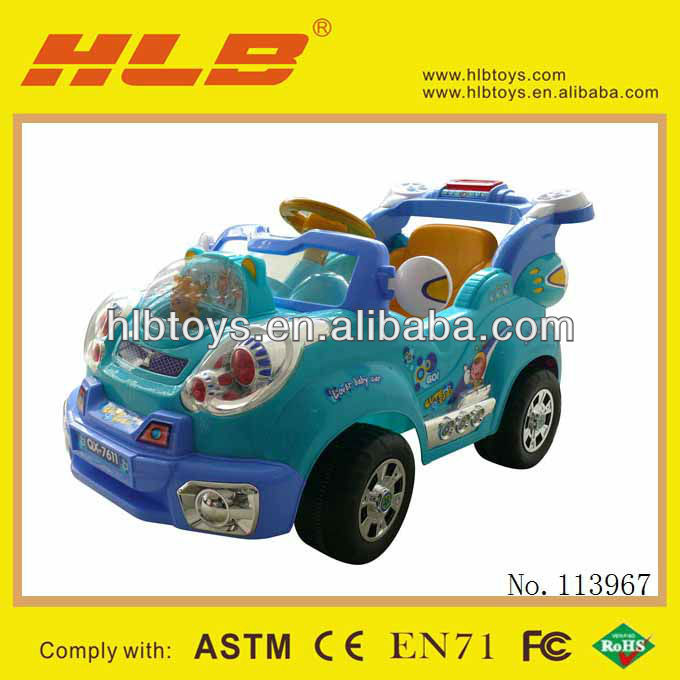 113967-(G1003-7611A) RC Ride on car,huada car toy ride on