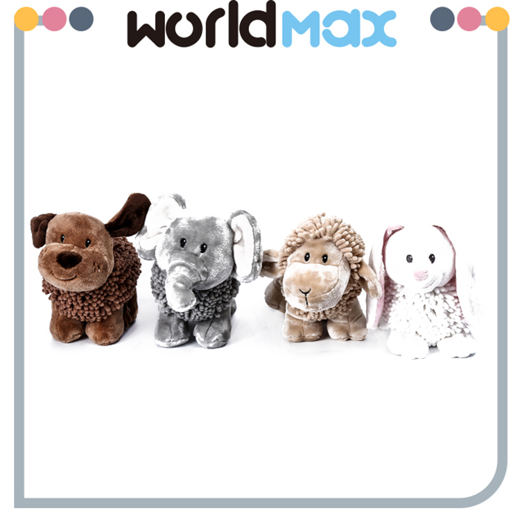 New Arrival Graceful Smiling Animal Various Oem Baby Toy
