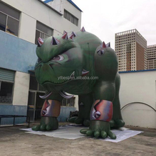 new advertising promotional inflatable cartoon dinosaur
