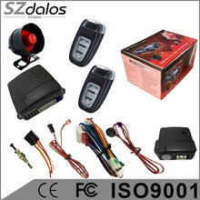 South America market SZDALOS nemesis viper one way smart car alarm system with remote engine start functions