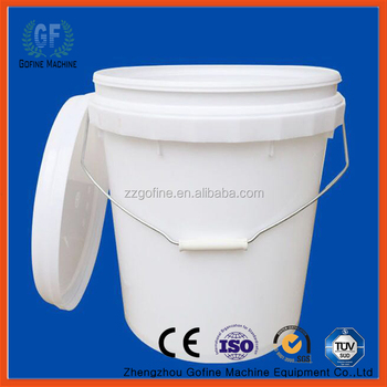 20 gallon bucket. 20 Gallon PP Barrel Plastic Bucket N