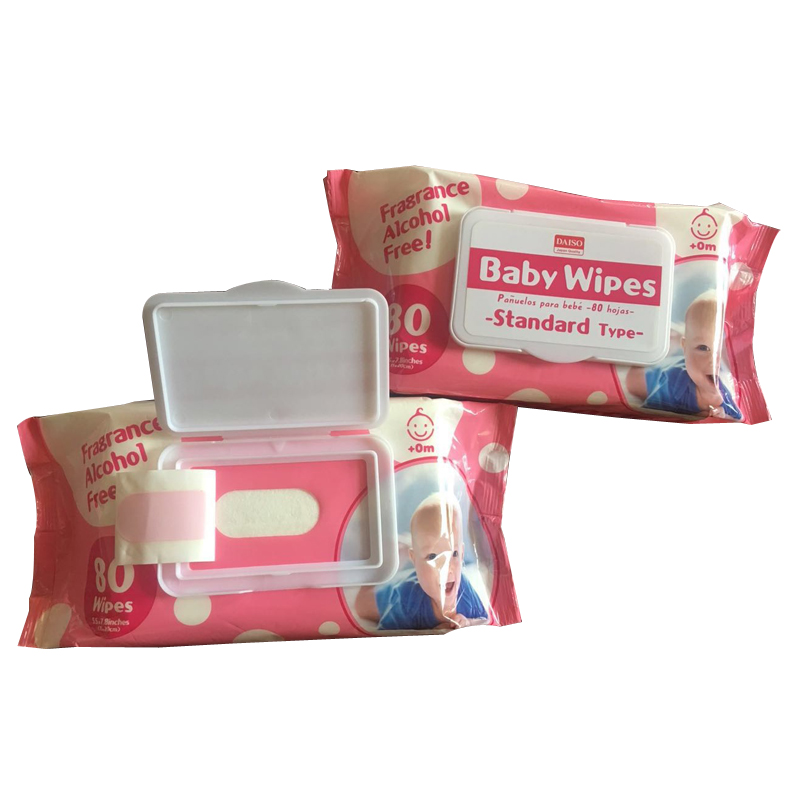 Couches bébé lingette nettoyante tissu humide pour bébé