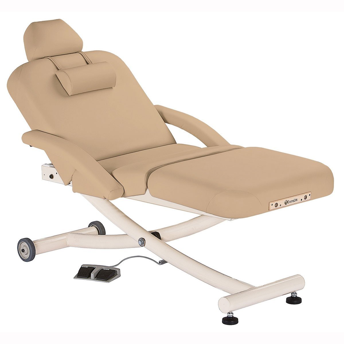Earthlite Ellora Vista Salon Stationary Massage Table - Beige