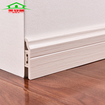 Eco Friendly Rubber Baseboard Trim Pvc Plinth Skirting Board China