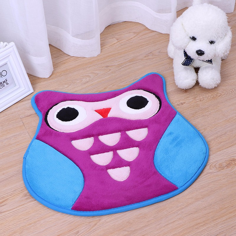 anti slip decorative kids play floor mat
