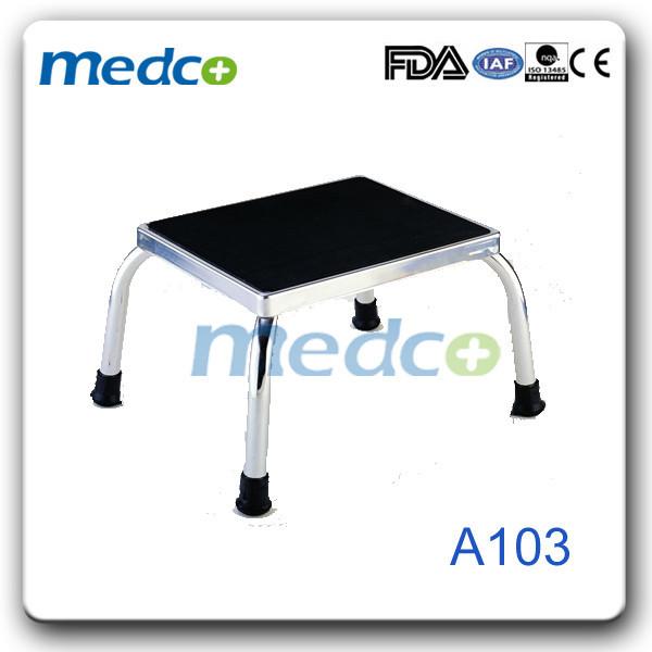 Один шаг пластиковые кровать ногой табурет A103
