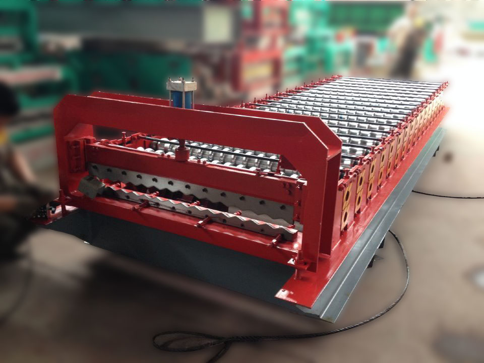 Mytext Corrugated metal roof and wall roll forming machine prices