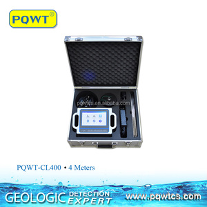 Powerful anti-jamming Water Leak Detection Equipment PQWT-CL400 Pipe Leak Detector 4M