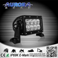 ATV Parts IP69K 4'' 24W dual row 4wd led spot light